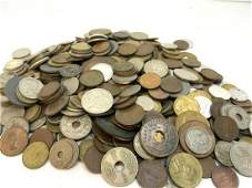 Estate Compiled Foreign Coin Lot