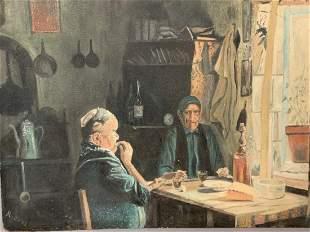 1930's WPA Art Scene by A. Bunz