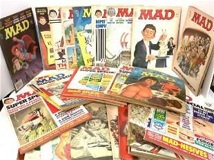 1970's MAD MAGAZINE LOT
