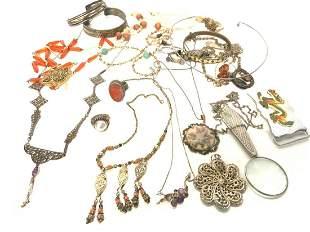 Estate Costume Jewelry Group