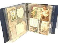 Victorian Paper Ephemera Album