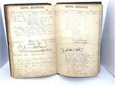 Hudson River Hotel Ledger 1897-1908, Rockland Cty. New