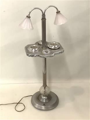 Art Deco Smoking Stand Floor Lamp