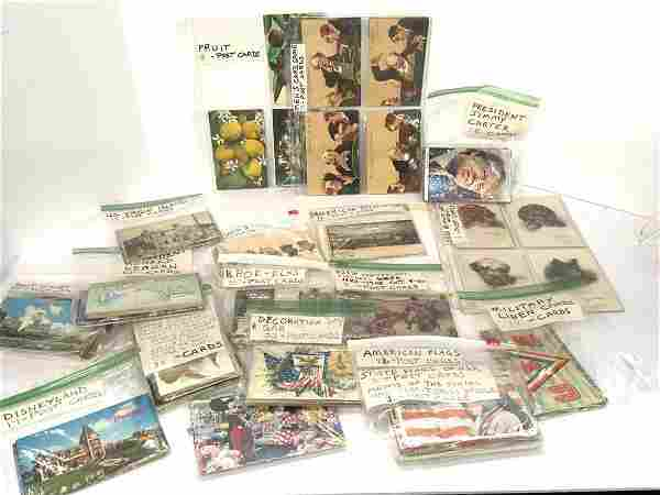 Compiled Vintage Postcard Collection