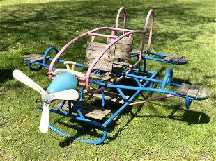 Airplane Ride On See Saw Toy