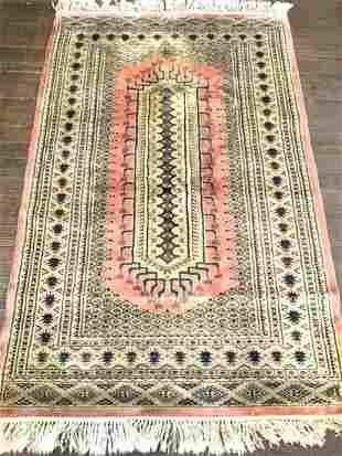 Persian Silk Carpet 6ft X 3ft