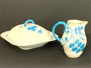 Minton Blue And White 19th c. Dinnerware China