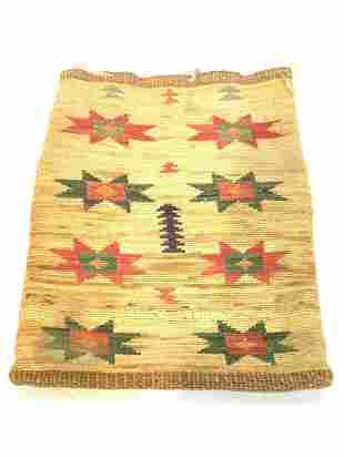 North American Plateau Native Indian Corn-Husk Bag