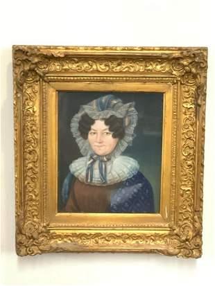 19th c. French Female Portrait