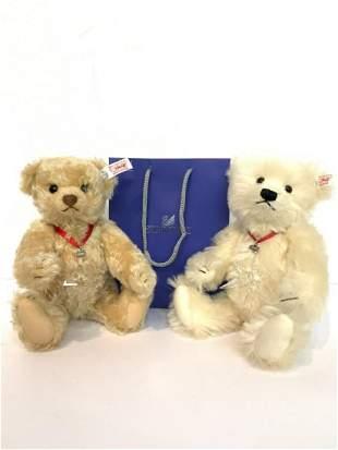 Swarovski Steiff Teddy Bear 2004 & 2005