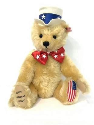 Steiff First American Teddy 100th Anniversary Growler