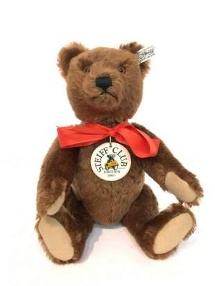 Steiff Club Edition 2001 Teddy Bear Squeker