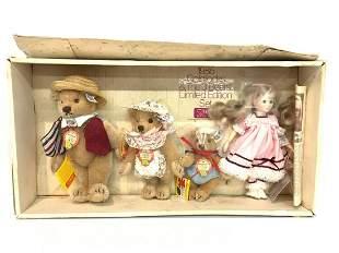 Steiff Goldilocks/ Three Bears Limited Edition 1985