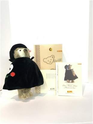 Steiff Phantom of the Opera Teddy Bear 2007 W/ Voice