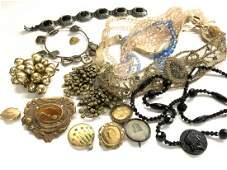 Vintage Estate Costume Jewelry Group