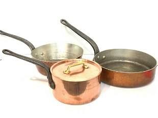 Williams Sonoma French Copper Cookware
