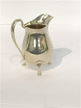 Frank Whiting Sterling Silver Footed Pitcher