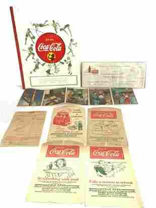 1930's -1950's Coca Cola Paper Ephemera