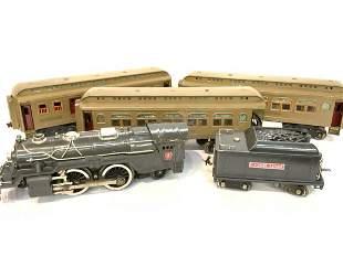 Lionel 385 Engine, Tender & Cars, Prewar Train Set