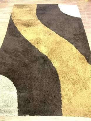 Mid Century Modern Design Shag Carpet
