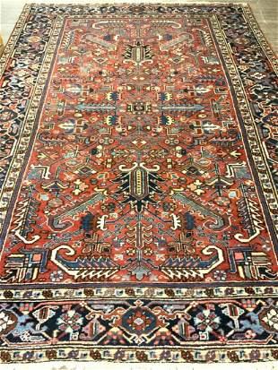 "Persian Wool Carpet 9'6"" X 6'5"""