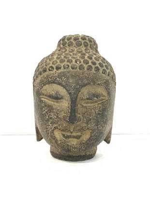 Stone Buddha Head