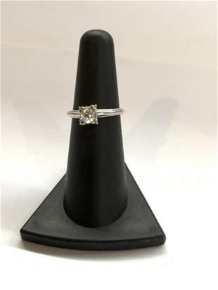 14k w.g. Diamond Engagement Ring