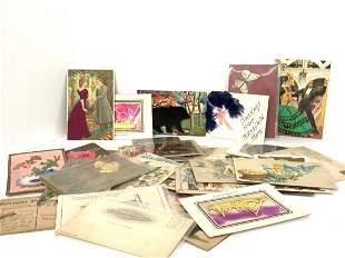 "Vintage ""Add On"" Postcards"