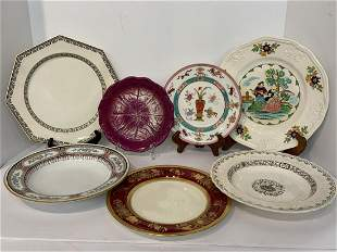 Compiled Grouping Minton Porcelain Plates