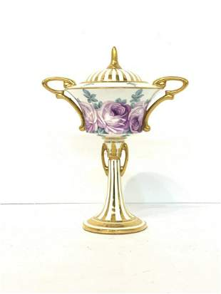 Minton Porcelain Covered Sweet Meat Dish