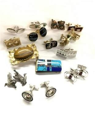 Men's Vintage Jewelry Lot, Cufflinks..