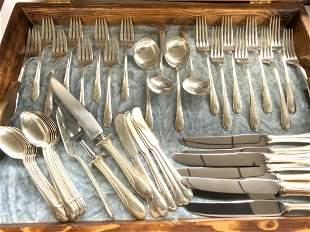 50 Piece Towle Sterling Silver Flatware Service