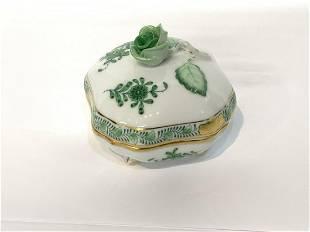 Herend Hungarian Porcelain Box