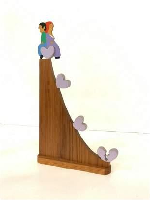 William Accorsi (America b.1931) Lover's Sculpture
