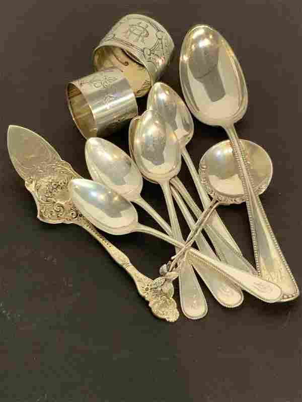 Esate Compiled Silver Flatware 800