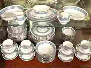 "Noritake ""Larue"" Porcelain Dinner Service"