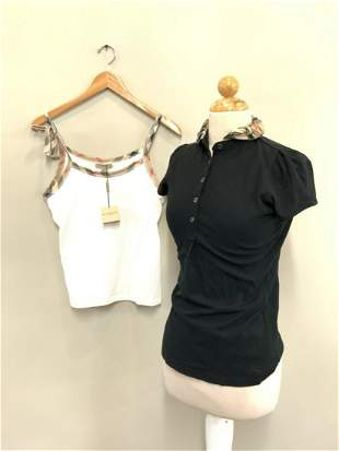Two (2) Piece Burberry Woman's Tops