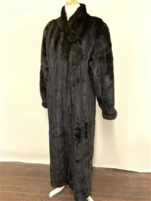 Full Length Mink Coat Size L
