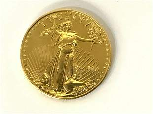 1994 $50 American Gold Eagle Coin