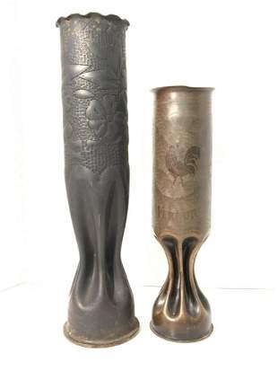 Two (2) Piece Trench Art