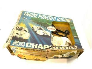Cox Chevy Chaparral Engine Powered Racing Slot Car