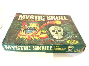Vintage Mystic Skull Game by Ideal