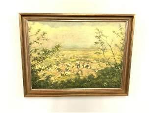 Peter Koch (German, 1874-1956) Village In Landscape