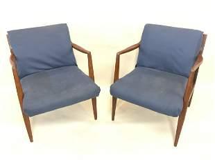 Mid Century Modern Design Arm Chairs