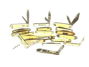 Twenty (20) Estate Compiled Pocket Knives