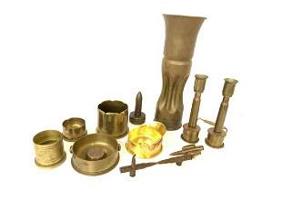 Collection of Military Trench Art