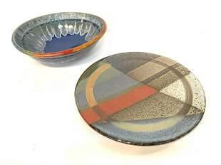 1980's Art Pottery Group