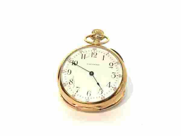 14K Gold Lady Waltham Pocket Watch