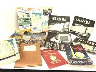 1939 New York World's Faire Ephemera Collection Lot