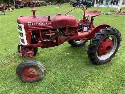 1948-49 Farmall Cub Tractor